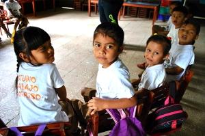 Participantes del programa preescolar. Foto cortesía de Gocare