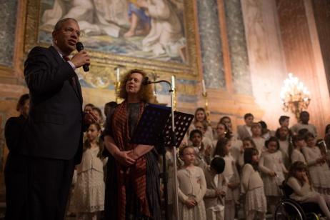 2016_pres ravindran at jubilee in rome