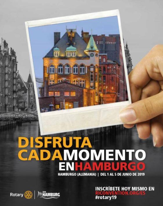 Hamburgo poster