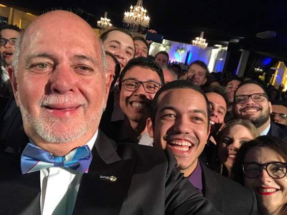 Barry Rassin and Rotaractors in Brazil