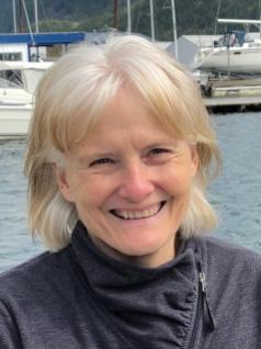 Pat Carson, coordinadora del programa de Intercambio de Jóvenes del Distrito 5080